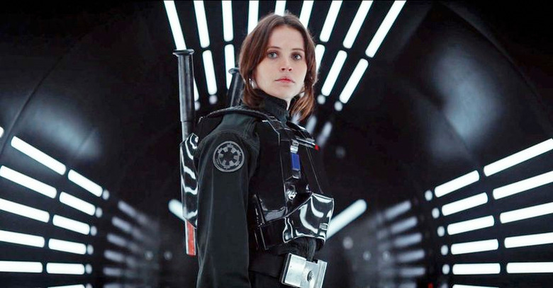 Rogue One Trailer Shot - Jyn Erso Tunnel