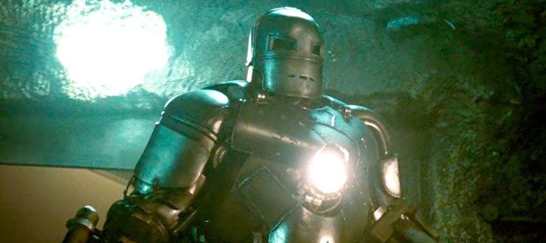 Iron Man Mark I Helmet Prop Replica