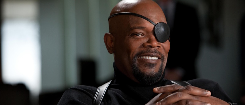 nick fury in captain marvel