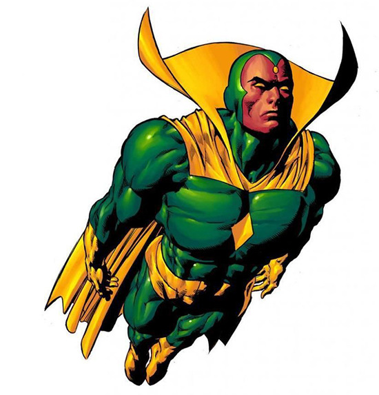 Marvel-Comics-Vision