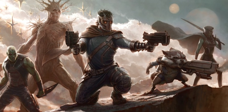Guardians of the Galaxy header size