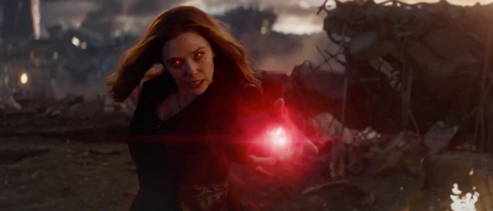 Scarlet Witch Thanos fight
