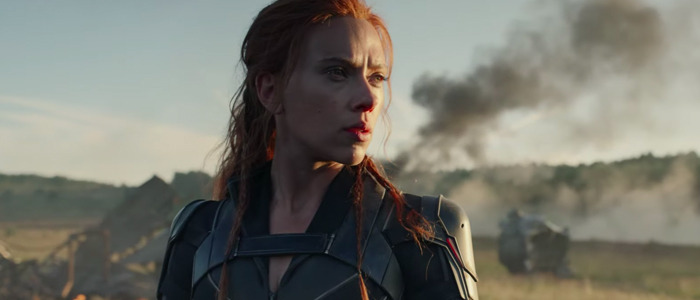 Black Widow Scarlett Johansson smoke