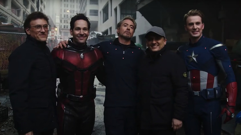Joe and Anthony Russo Ant-Man, Iron Man and Captain America
