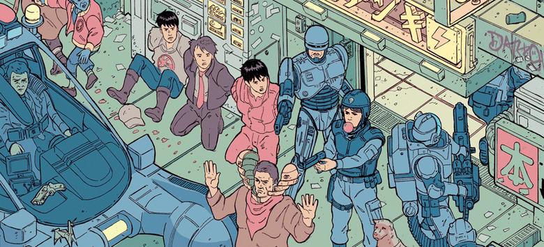 Sci-Scapes - Sci-Fi Crossover Poster