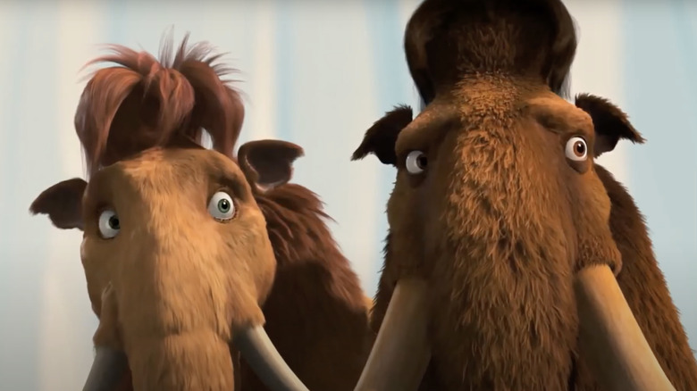 Ice Age 2 Woolly Mammoths