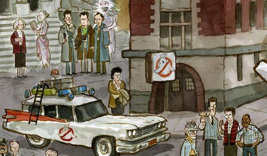 Scott C Ghostbusters header