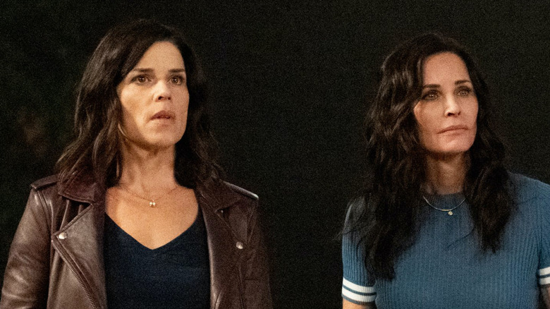 Scream First Look: Neve Campbell And Courtney Cox Go Back To School