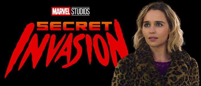 Secret Invasion cast Emilia Clarke