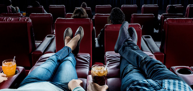 seeing movies is a workout