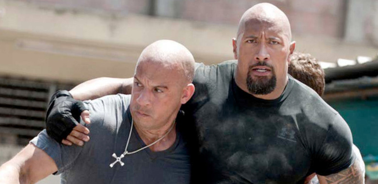 Fast and Furious - Vin Diesel and Dwayne Johnson Feud