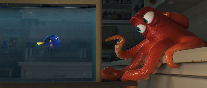 finding dory new characters