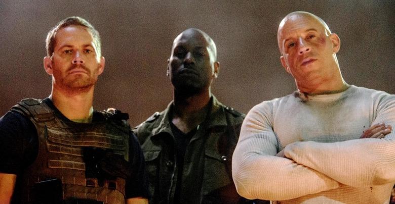 Fast and Furious 7 - Paul Walker, Tyrese Gibson, Vin Diesel