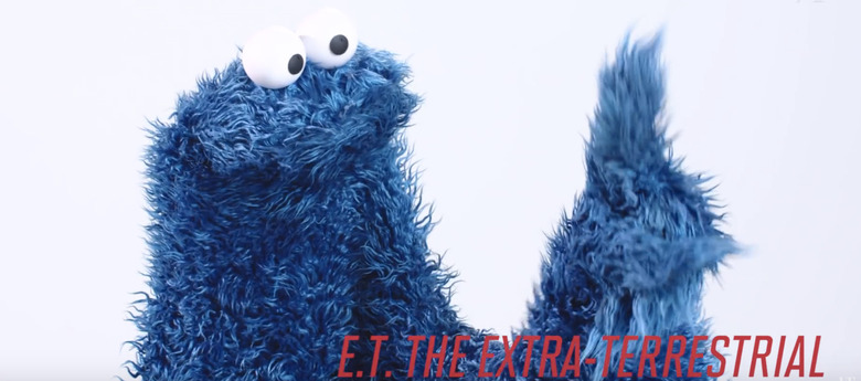Sesame Street Characters Reading Movie Quotes