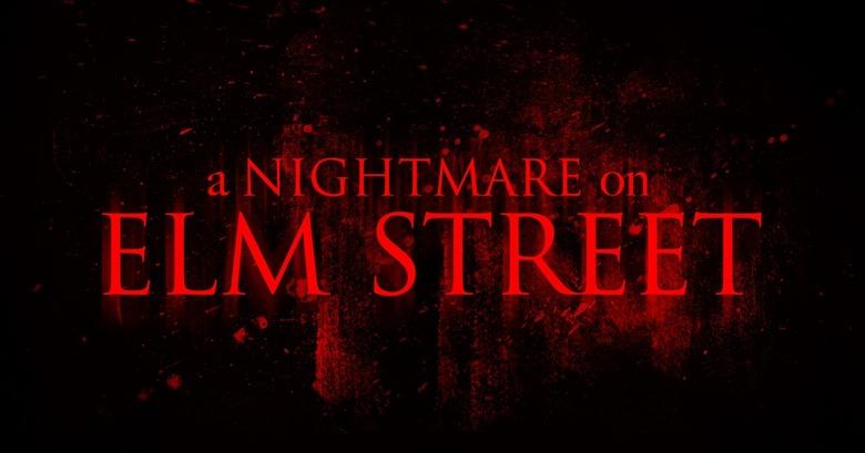 A Nightmare on Elm Street remake logo