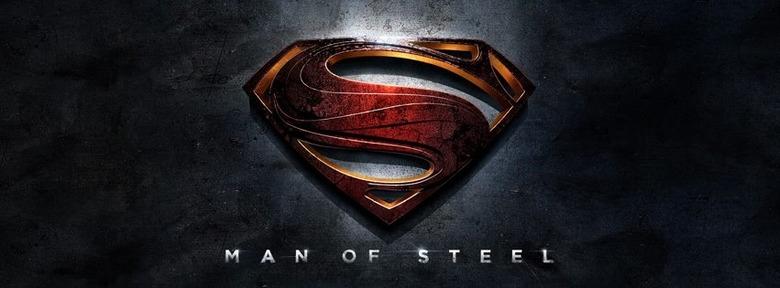 Man of Steel logo Superman