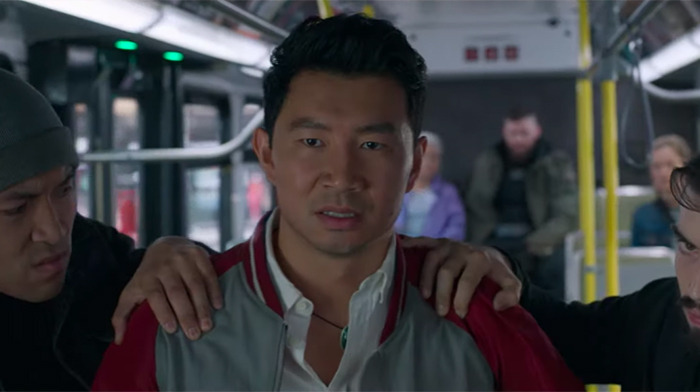 Shang-Chi Bus Fight Clip