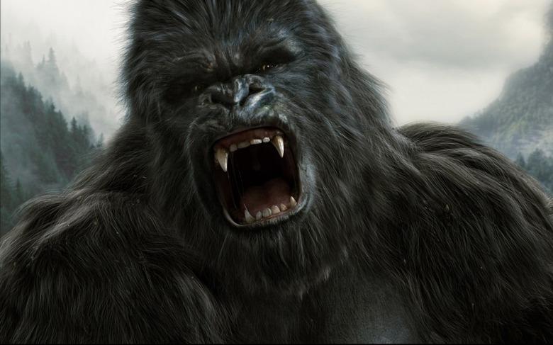 King Kong Portrait by Wei Lin Ke