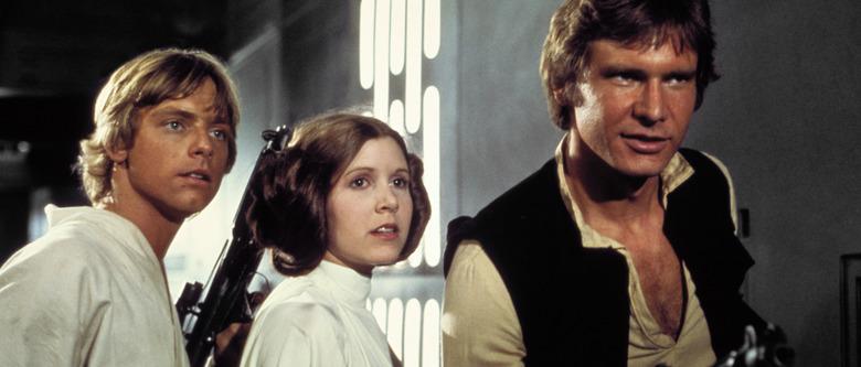 Star Wars - Luke Skywalker, Han Solo, Leia Organa