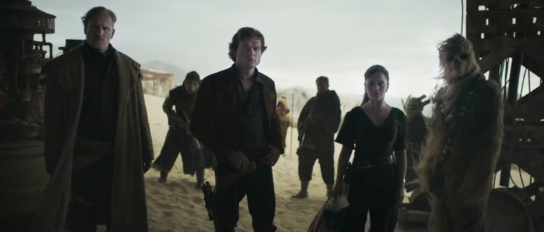 Solo a Star Wars Story Clip