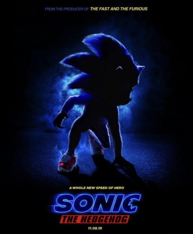 sonic the hedgehog movie first look