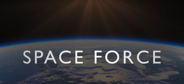 space force tv series cast