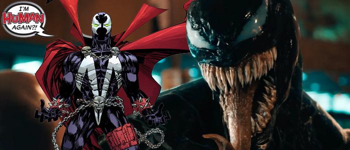 Spawn Venom movie crossover