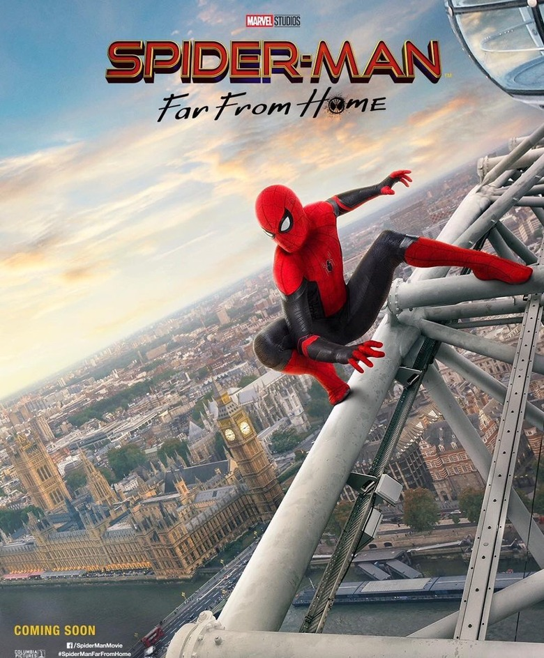 spider-man far from home posters