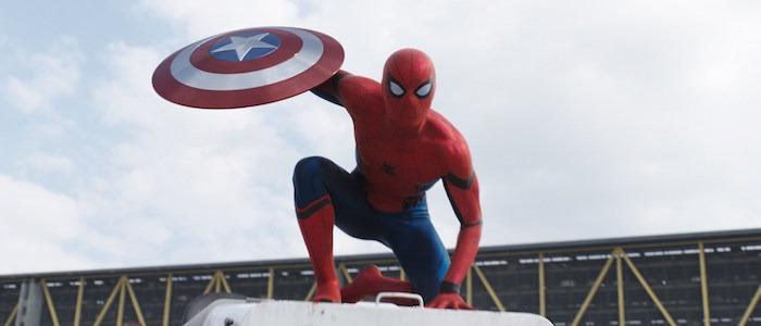 spider-man footage