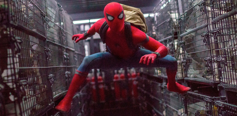 spider-man homecoming characters in infinity war