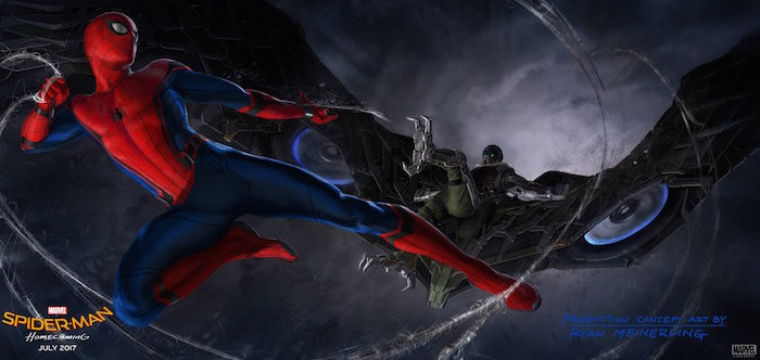 spider-man homecoming news