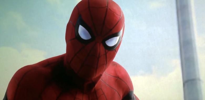 Spider-Man Homecoming Set Photo