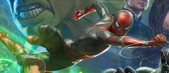 Avengers Infinity War - Spider-Man - Iron Spider Suit