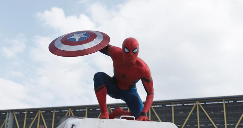 new spider-man costume