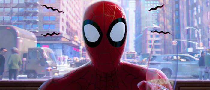 Spider-Verse opening scene