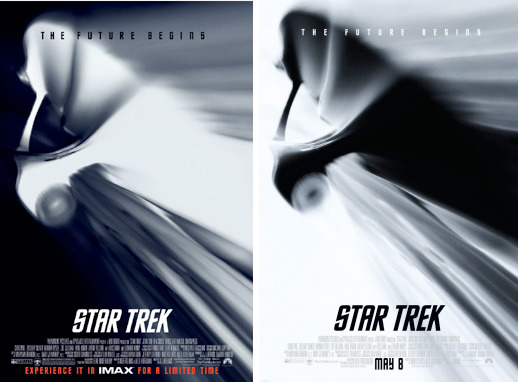 star trek imax poster