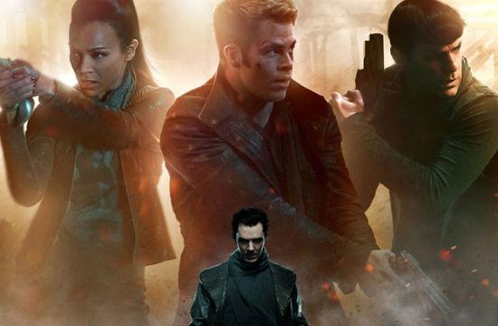 Star Trek Into Darkness Poster header