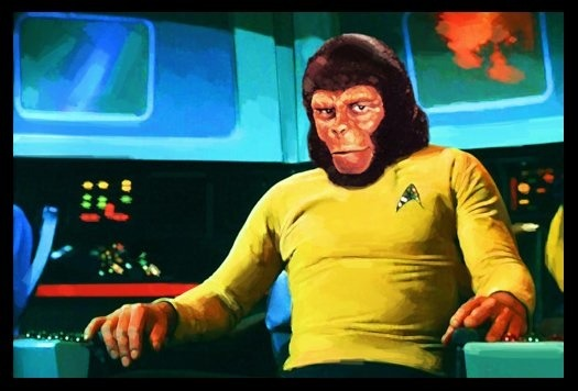 Star Trek/Planet of the Apes Crossover