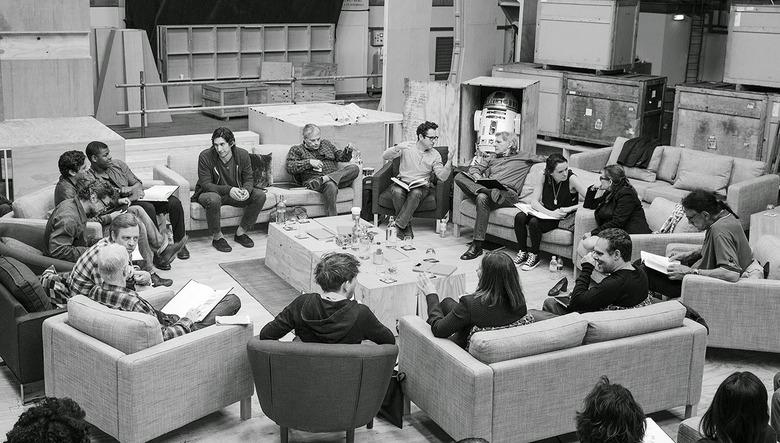 Star Wars Episode 7 script reading