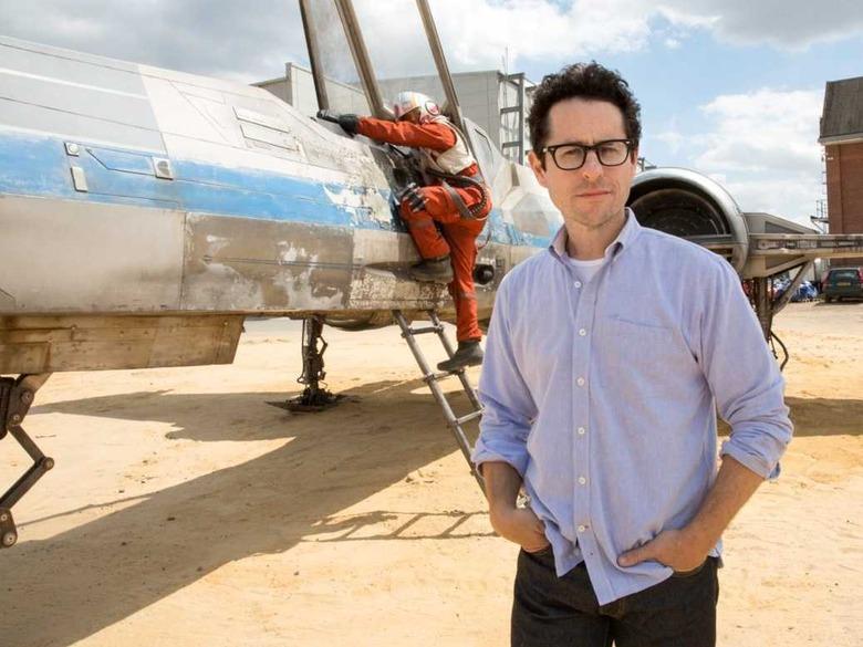 J.J. Abrams Star Wars Force Awakens