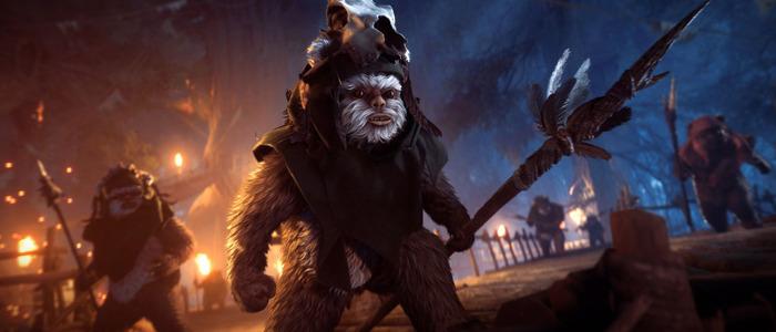 Star Wars Battlefront 2 Ewok