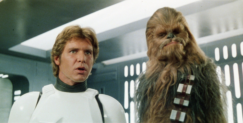 Star Wars - Han Solo and Chewbacca