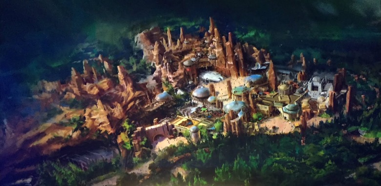 Star Wars Land Rendering