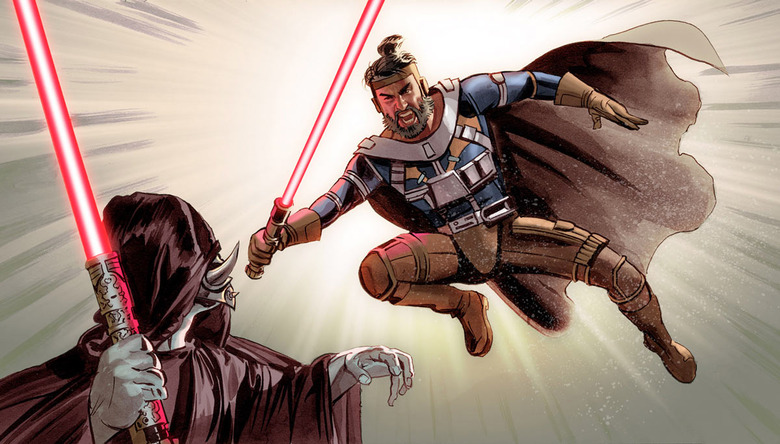 The Star Wars panels 2