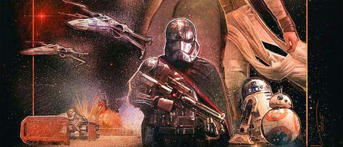 Star Wars: The Force Awakens - Paul Shipper poster