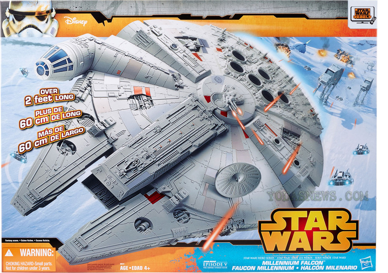 New Millennium Falcon Toy