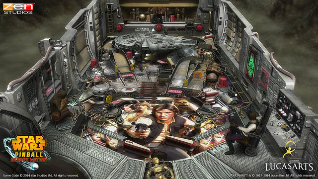 Han Solo Pinball