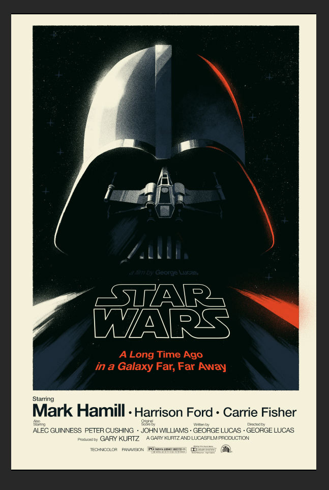 Olly Moss Star Wars gift