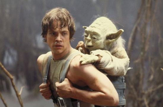 Empire Strikes Back Mark Hamill Yoda