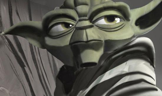 Yoda Clone Wars Concept Art